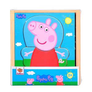 Peppa Pig houten legpuzzel  legpuzzel 12 stukjes