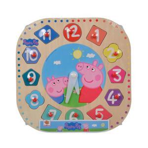 Peppa Pig Houten Leerklok