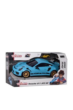 Porsche 911 GT3 RS Carry Case + 1 metalen voertuig