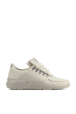 Roque Royal  leren chunky sneakers off white