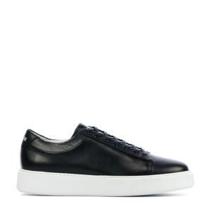 VG45  leren sneakers zwart
