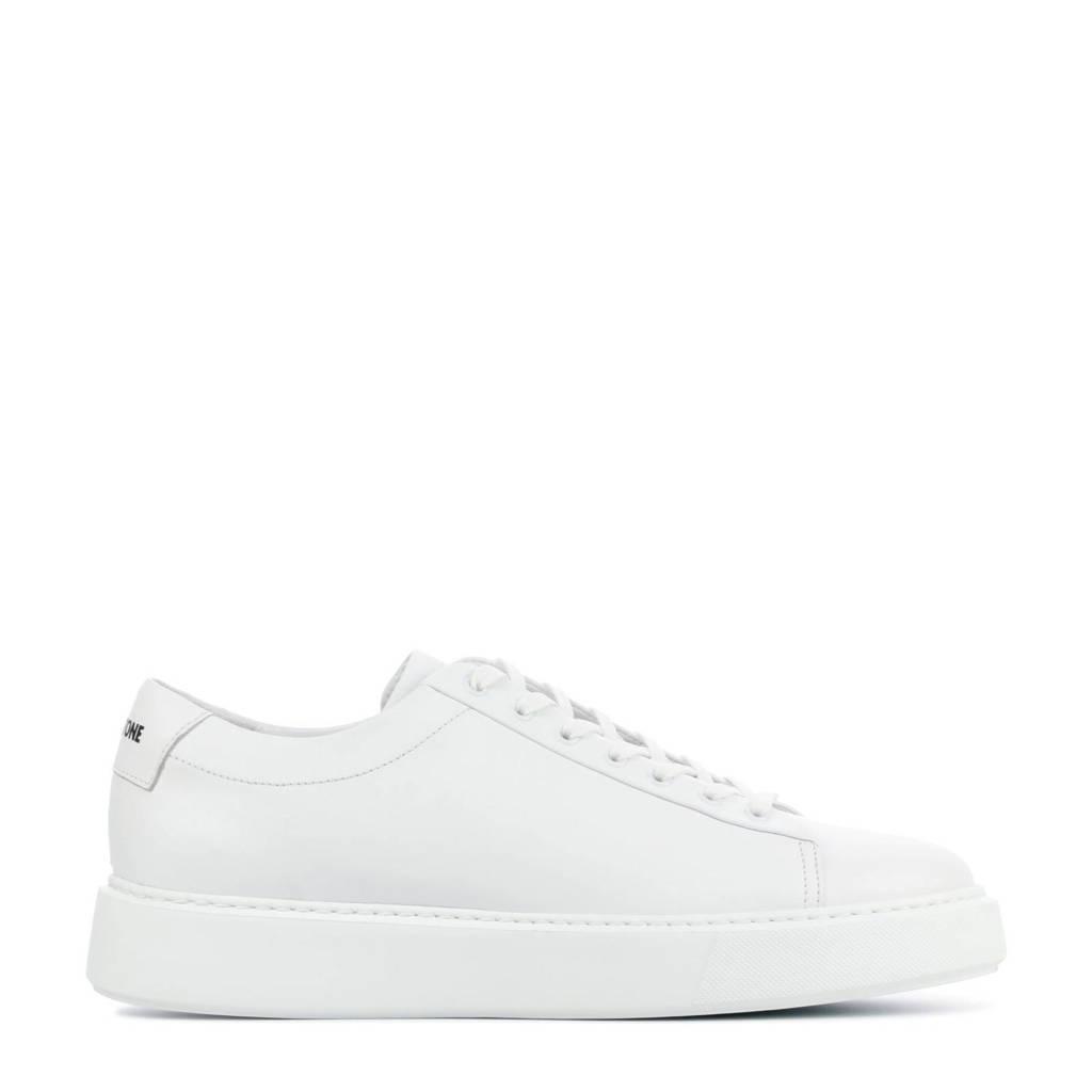 Blackstone VG45  leren sneakers wit, Wit