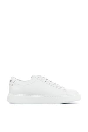 VG45  leren sneakers wit