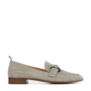 Zanzy  suède loafers taupe