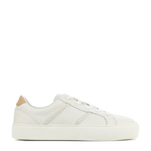 Dinale 1121572 leren sneakers off white