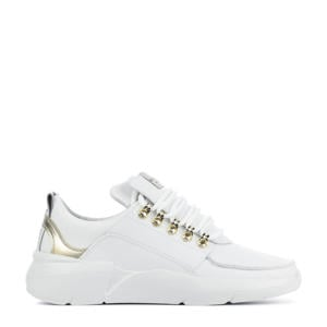 Roque Royal  leren chunky sneakers wit/goud