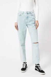 America Today high waist tapered fit jeans Jadan B light denim, Light denim