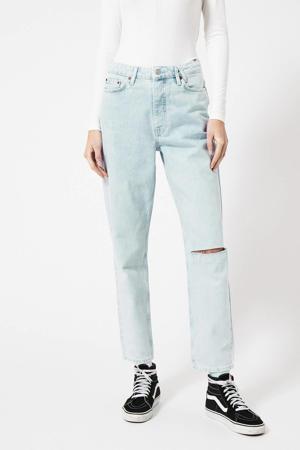 high waist tapered fit jeans Jadan B light denim