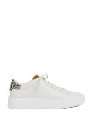 Piixin  leren sneakers wit