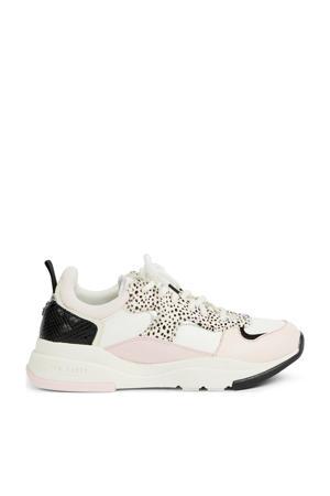 Izsla  sneakers wit/roze/zwart
