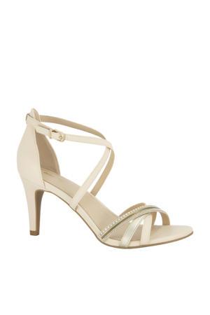 sandalettes ecru