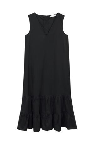 trapeze jurk zwart