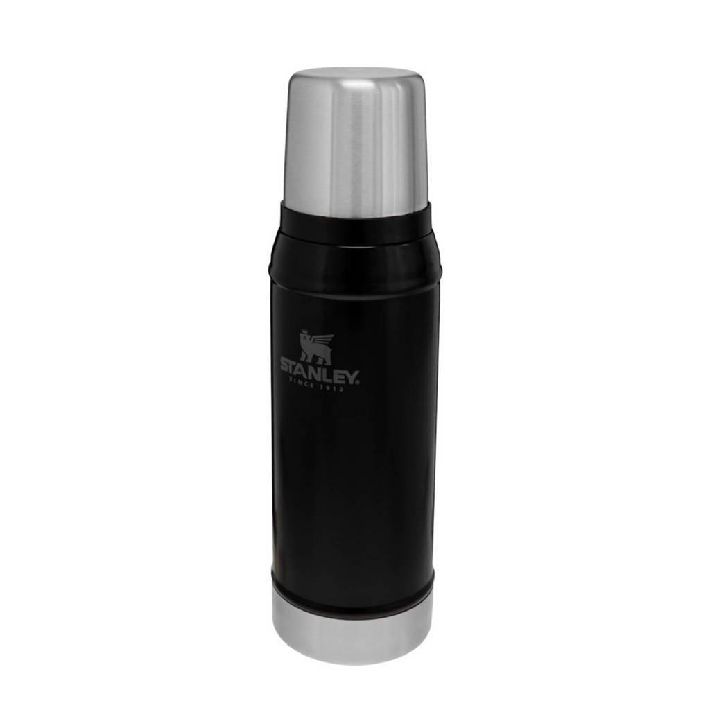 Stanley thermosfles 0,75 liter zwart, Zwart