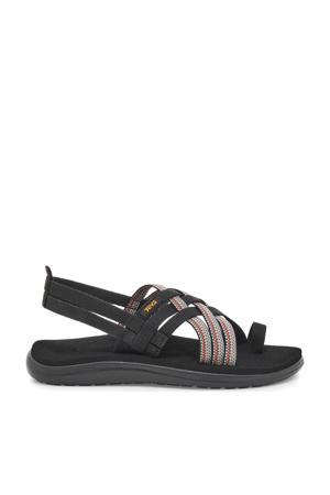 Voya Strappy outdoor sandalen zwart/multi