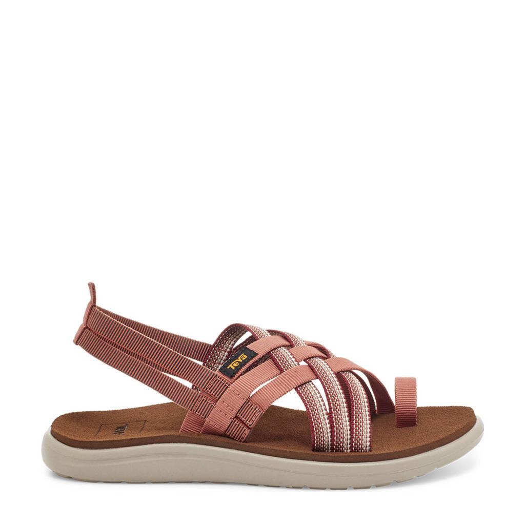 Teva  Voya Strappy outdoor sandalen bruin/multi, Bruin/multi