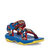 Teva Hurrican XLT 2  outdoor sandalen blauw, Blauw/rood/geel