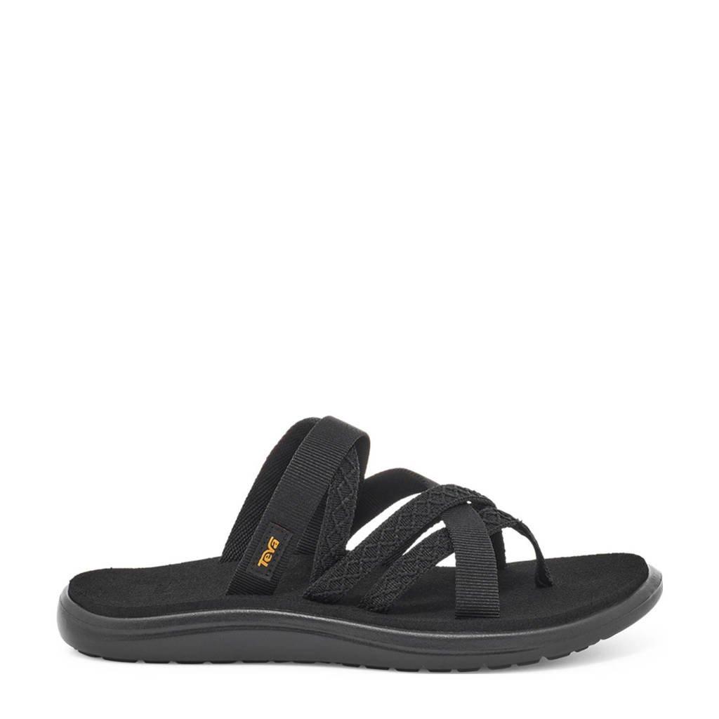 Teva Voya Zillesa  slippers zwart, Mahani-Black