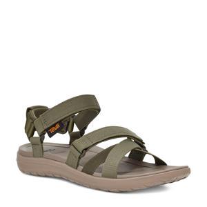Mia  sandalen olijfgroen