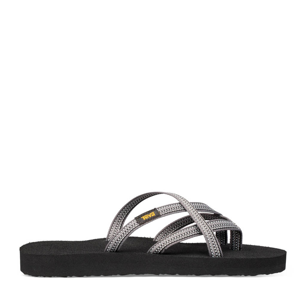 Teva Olowahu  slippers grijs/lichtgrijs/zwart