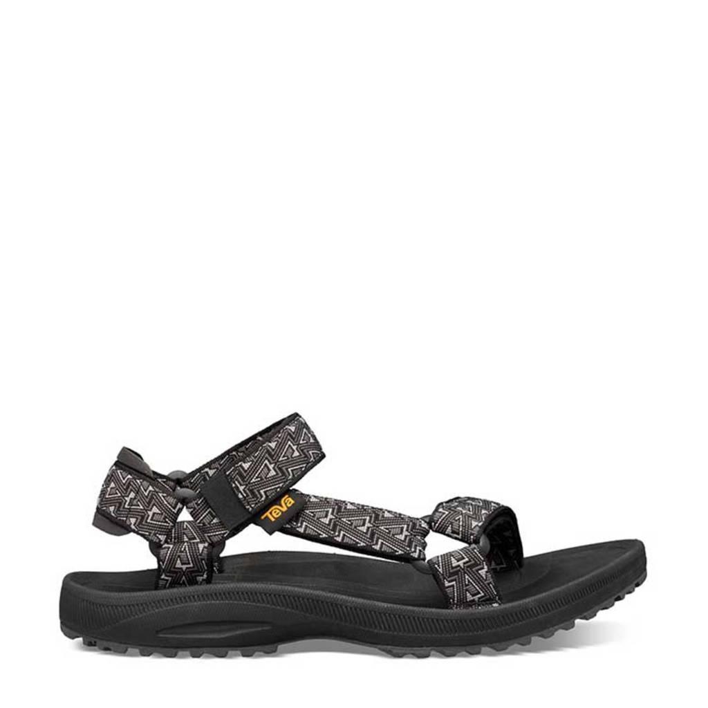 Teva Winsted  sandalen zwart, Bamboo Black