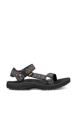 Winsted  sandalen zwart