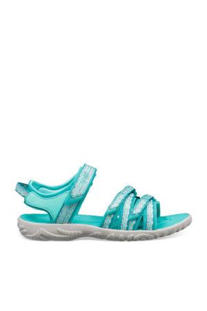 Tirra  sandalen turquoise