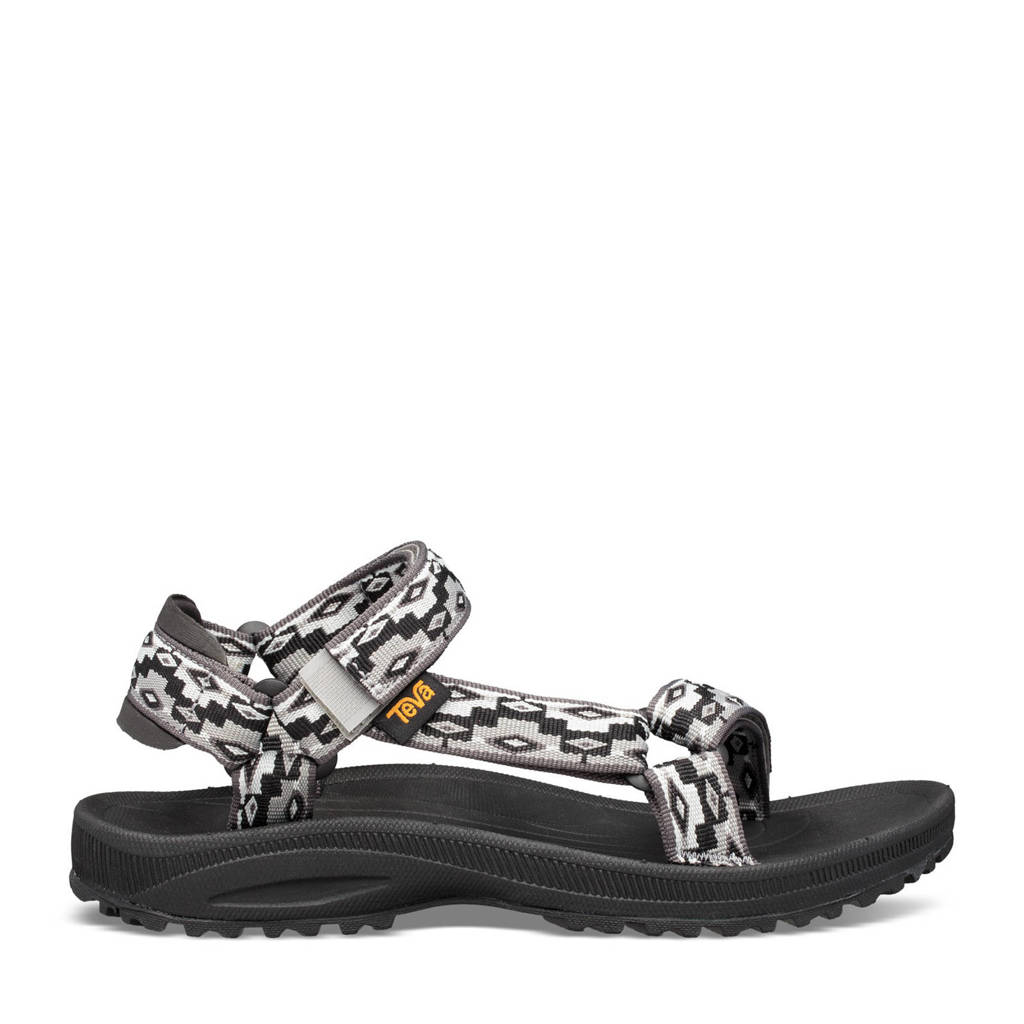 Teva Winsted  sandalen zwart/grijs, Monds Black Multi