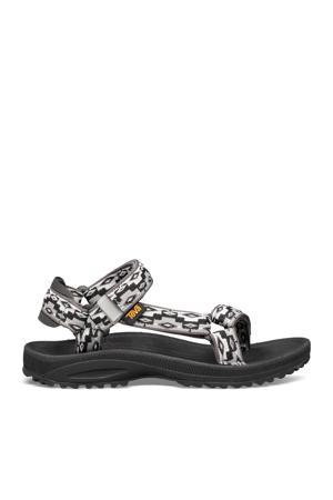 Winsted  sandalen zwart/grijs