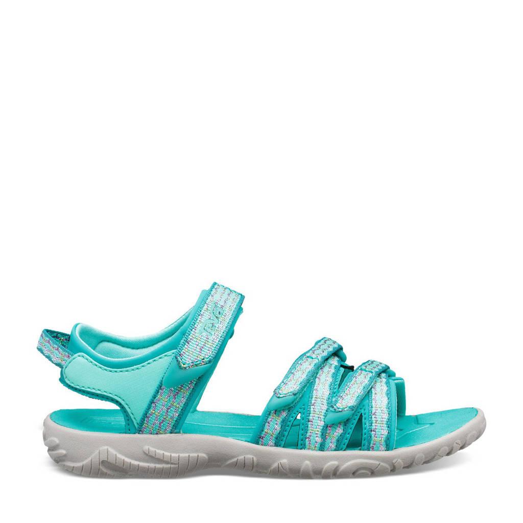 Teva Tirra  sandalen turquoise, Camino Metallic Teal Blue