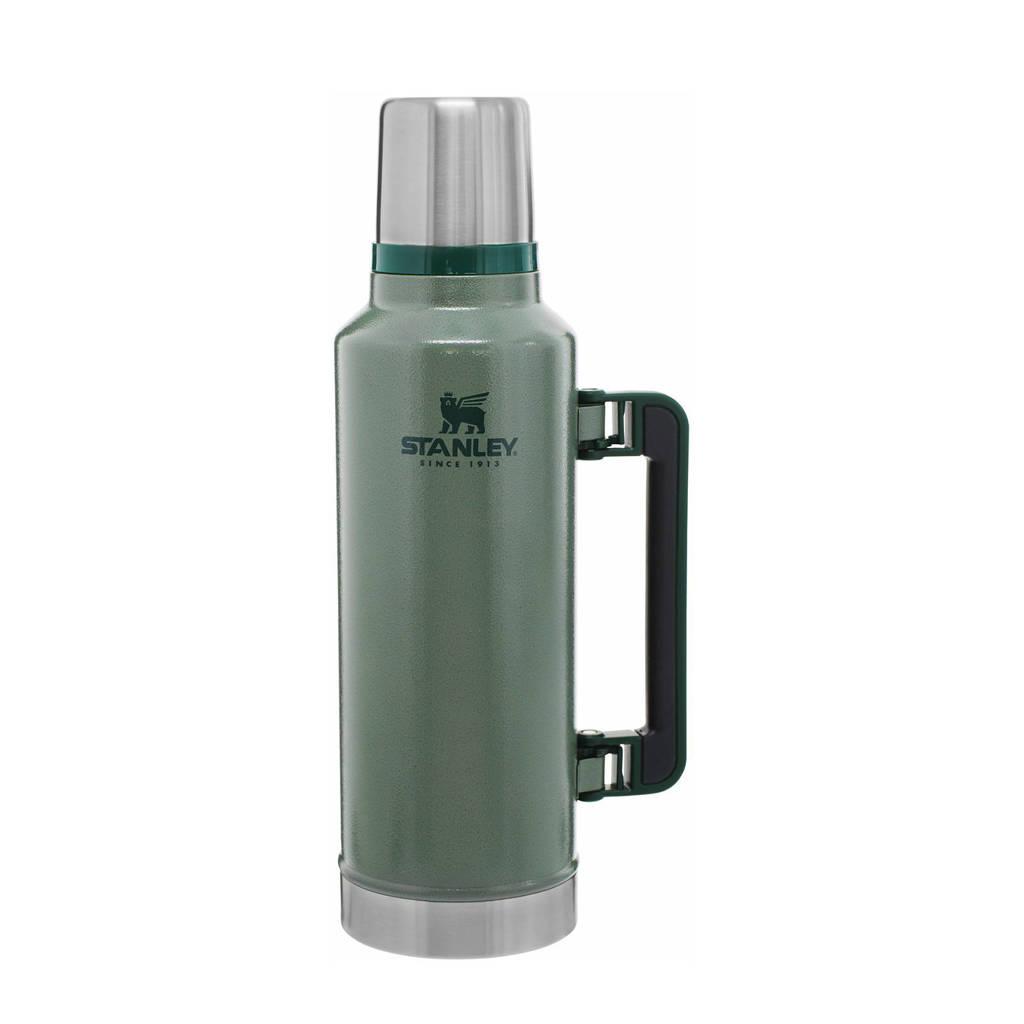 Stanley thermosfles 1,9 liter groen, Groen