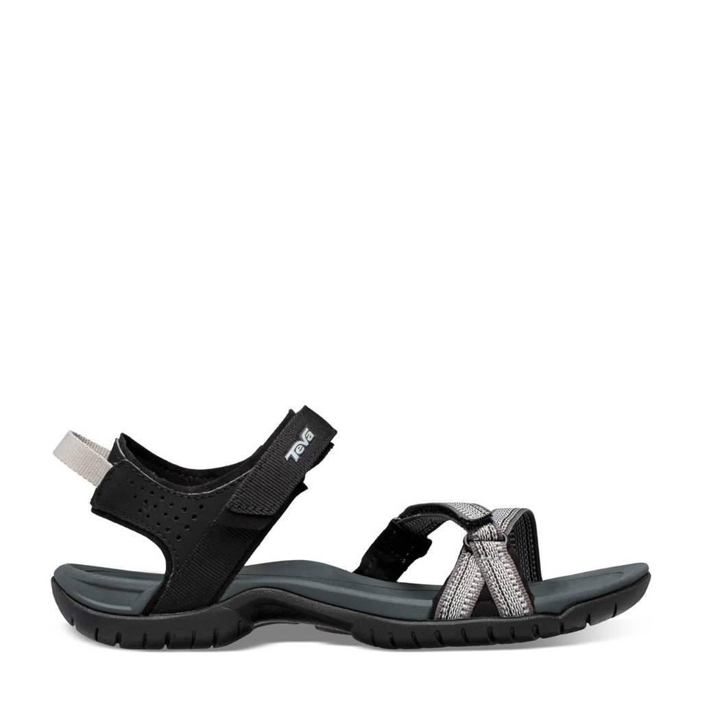 Teva Verra  sandalen zwart/multi, Anitguous Black Multi
