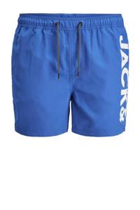 JACK & JONES JEANS INTELLIGENCE zwemshort Bali met logo blauw, Blauw
