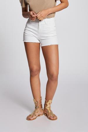 slim fit jeans short ecru