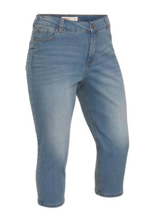 high waist skinny capri jeans 24/7 light denim