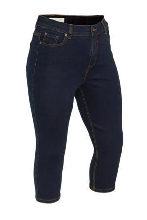high waist skinny capri jeans 24/7 dark denim