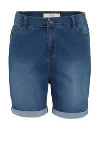 Simply Be high waist jeans short 24/7 light denim, Light denim