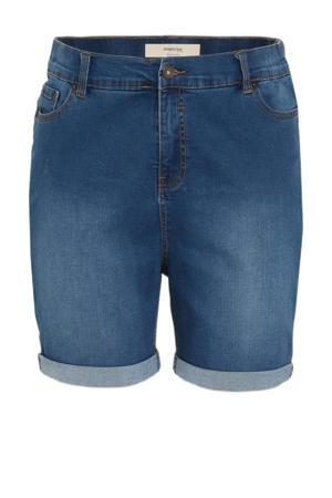 high waist jeans short 24/7 light denim