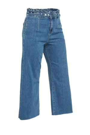 high waist wide leg jeans vintage blue