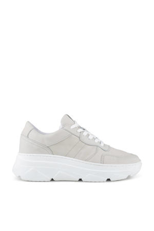 Jola  chunky nubuck sneakers lichtgrijs