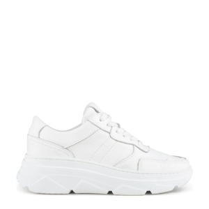 Jola  chunky leren sneakers wit