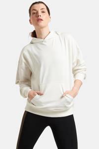 Shoeby Eksept sport hoodie Yane ecru/bruin/zwart, Ecru/bruin/zwart