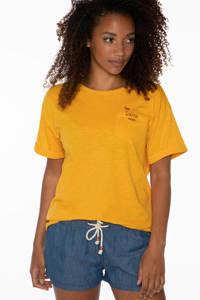 Protest T-shirt Bo geel, Geel