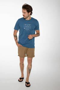 Protest T-shirt Harwell blauw, Blauw