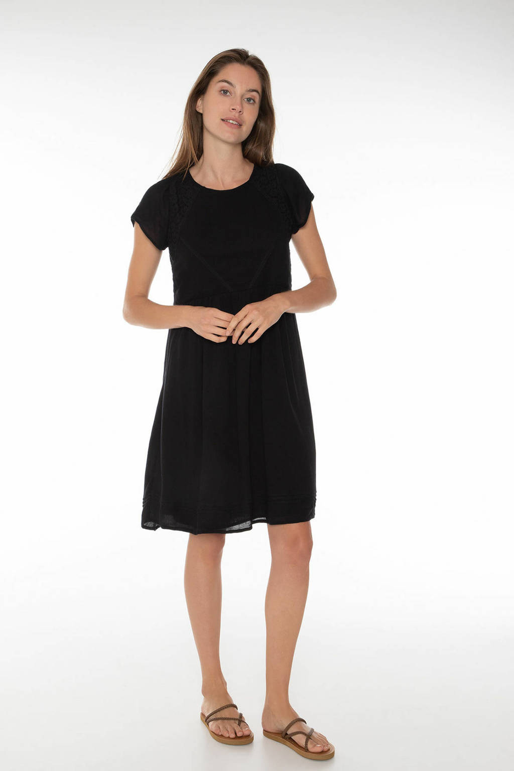 Protest jurk Melody zwart, Zwart