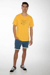 Protest T-shirt Harwell geel, Geel