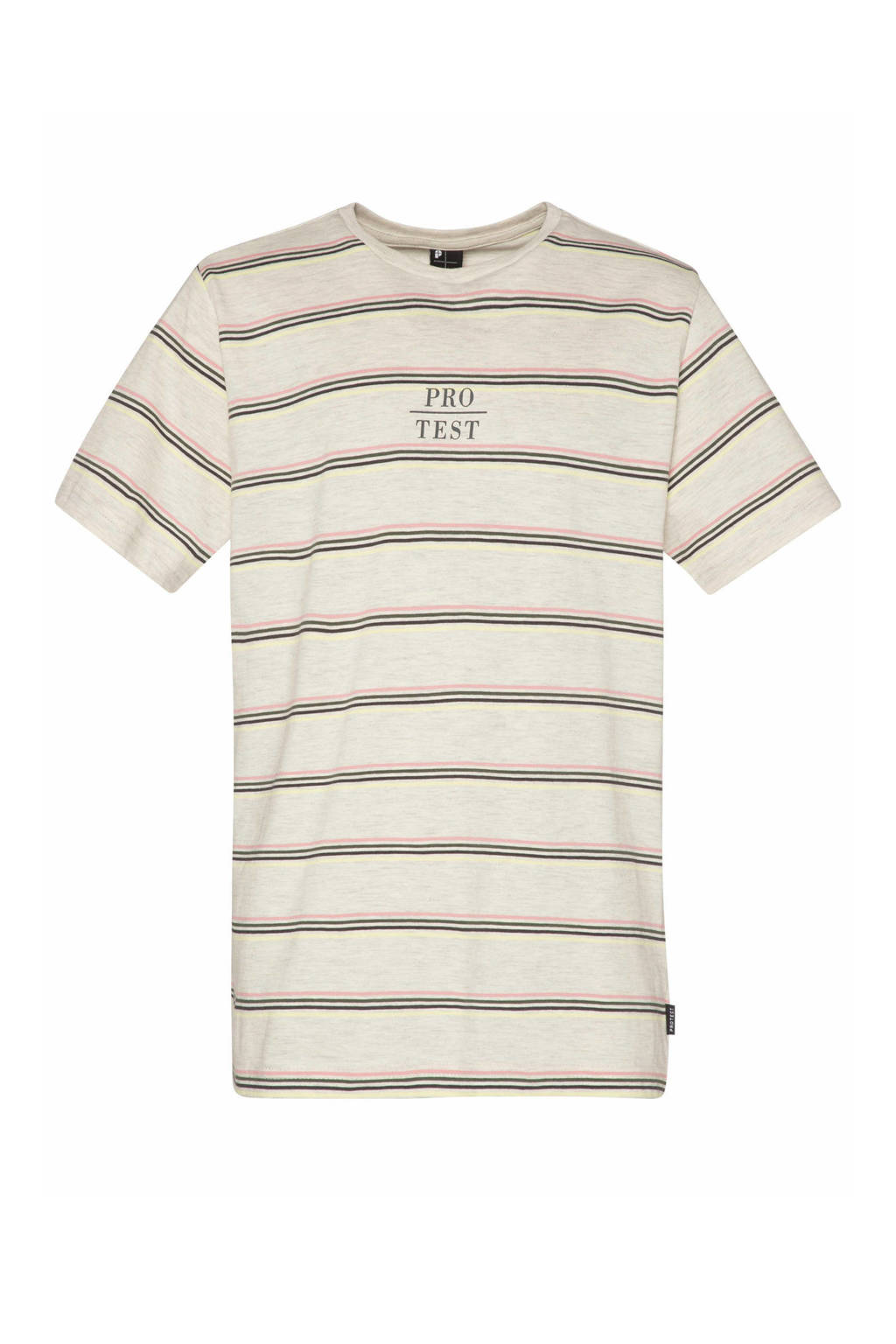 Protest T-shirt Thijs off-white/beige, Kit