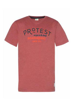 T-shirt Lucas rood
