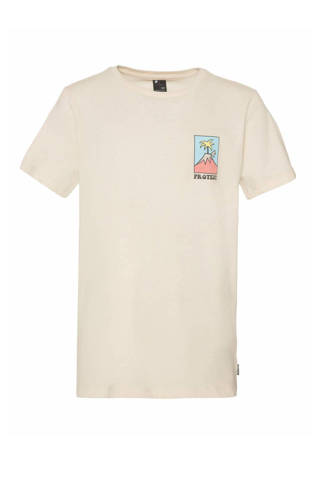 Protest T-shirt Blaze off-white, Kit