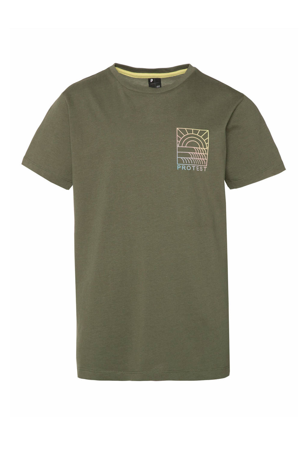Protest T-shirt Billy groen, Spruce
