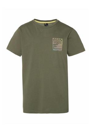 T-shirt Billy groen